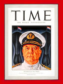 Admiral Helfrich on the cover of TIME magazine in 1942