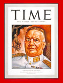 General Ter Poorten on the cover of TIME magazine in 1942
