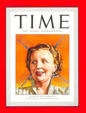 Queen Juliana on the cover of Time magazine in 1948.