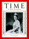 Queen Wilhelmina on the cover of TIME magazine in 1935
