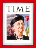 Queen Wilhelmina on the cover of TIME magazine in 1946